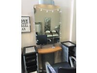 Hairdressing station to rent