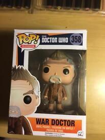 War doctor POP! Vinyl figure number 358