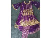 Purple India/Pakistan dress