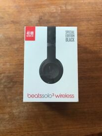 New-In-Box Beats Solo3 Wireless Headphones Special Edition Black