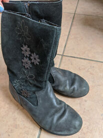 Girls Clarks boots, size 11