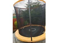 8ft Trampoline Sportspower with Folding Enclosure