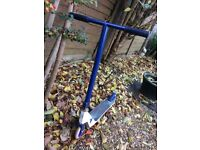 Stunt scooter - great xmas present for 8+ year old. Blue and white. Good condition.
