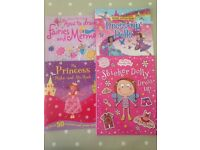 Girls activity books