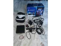 Play station virtual reality headset