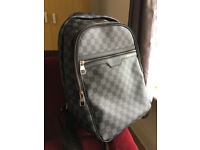 Louis Vuitton Graphite Black Backpack Rucksack Bag