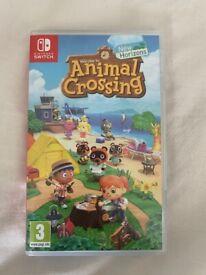 Nintendo switch: animal crossing