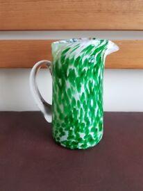 Murano glass jug