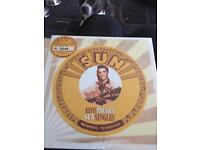 Elvis Presley 5 sun singles limited edition yellow vinyl very rare mint unopened brand new