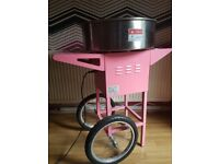 Pink candy floss machine on offer