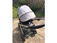 Oyster 2 chassis and pushchair