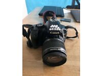 CANON EOS 450D used but in good condition