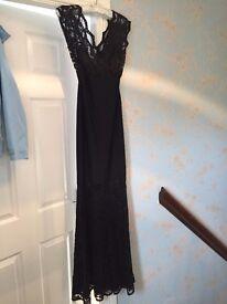 Black evening/Prom/Ball Lipsy London dress