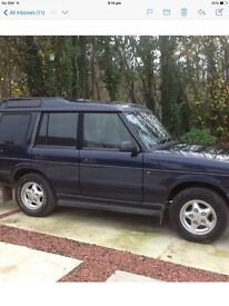 97 Landrover Discovery 2.5 diesel Automatic