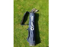 """Slazenger Jean Donald Ladies/Youths irons and pencil bag (No 4 iron shaft lenght 37"""")"""