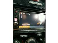 Alpine IVE-W530BT double din head unit
