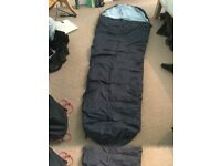 Scafell Rock Mummy sleeping bag with carry bag