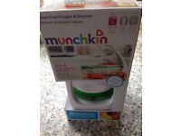Munchkin baby food chopper and steamer bpa free