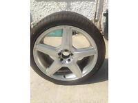 Dunlop 275/35/20 wheel