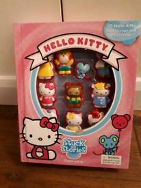 Hello Kitty Stuck on Story with 10 figures