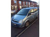 2008 1.6 Vauxhall Meriva Petrol