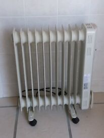Oil burner heater