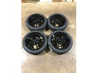"Brand new set of 17"" alloy wheels and Yokohama tyres Mini"
