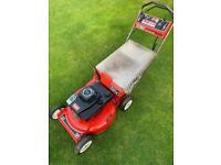 Toro commercial 53cm self propelled lawnmower serviced sharpened Suzuki engine alloy deck mower