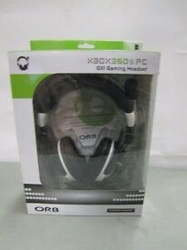 xbox 360 and PC gaming headphone