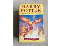 Harry Potter And The Order Of The Pheonix, by J.K Rowling