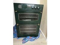 Stoves green integrated eye level double electric oven and gril