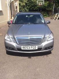 Mercedes Benz E CLASS £9700