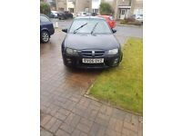 MG zr 160 vvc black petrol