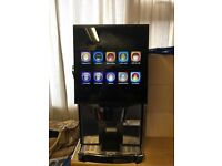 3 canister dispense system coffee machine
