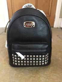 Michael Kors XS Studded Backpack leather BLACK