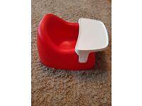 "Baby ""bumbo type"" feeding chair"