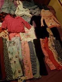 Girls 3-4 clothes bundle