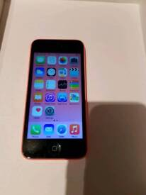 iPhone 5c Pink 32gb O2 / Giffgaff Network Good Condition