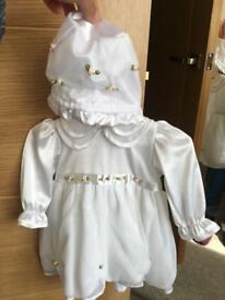 Christening outfit girl 6-9 months