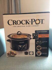 Crock-Pot Digital Slow Cooker - Brand New