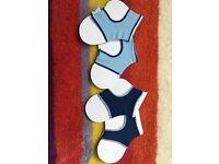 Blue sock-ons
