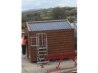 Cabins insulated & mainitance free