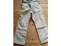 LADIES SKI TROUSERS / SALOPETTES, SIZE SMALL APPROX 8-10