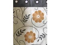 Next retro bold floral curtains - various sizes