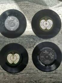 Beatles records 45s