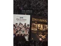 Boxed set DVDs