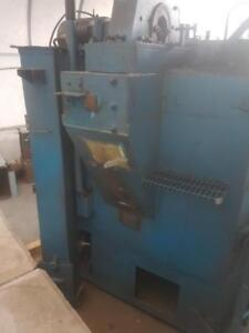 WHEELABORATOR Shot Blasting Machine W/ OPTIFLO Dust Collector