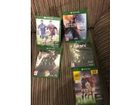 5 Xbox one games £15