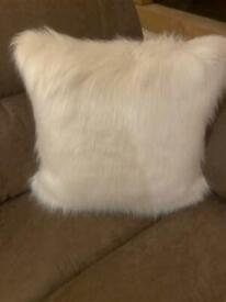 NEXT Artic Cosy Faux Fur Cushions X 4