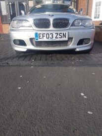 Offers welcome- BMW 325 ci MSport coupe, Auto (STEPTRONIC) 2003 silver facelift model, petrol